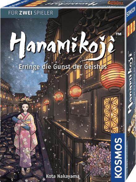 KOSMOS Hanamikoji Spiel