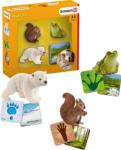MediaMarkt SCHLEICH Schleich® Lernkarten Wild Life Spielfiguren, Mehrfarbig