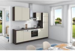 Einbauküche Küchenblock Möbelix Win 280cm Magnolia