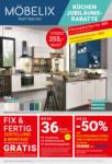 Möbelix KÜCHEN Jubiläums-Rabatte - bis 31.10.2020