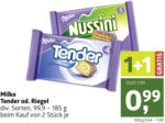 ADEG Milka Tender od. Riegel - bis 24.10.2020