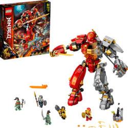 LEGO 71720 Feuer-Stein-Mech Bausatz, Mehrfarbig