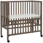 Möbelix Beistellbett Bedsise Crib Cocon Plus Grau
