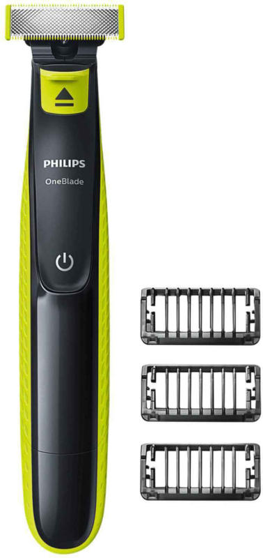 Philips OneBlade con 3 pettini regolabarba -