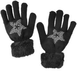Damen Handschuhe mit Stern-Motiv (Nur online)
