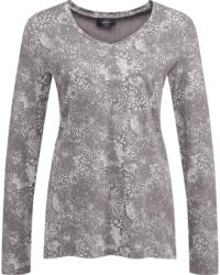 Damen Langarmshirt mit floralem Allover-Print (Nur online)