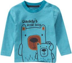 Baby Langarmshirt mit Bären-Print