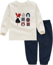 Baby Langarmshirt und Jogginghose im Set (Nur online)
