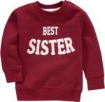Ernsting's family Baby Sweatshirt mit Schriftzug