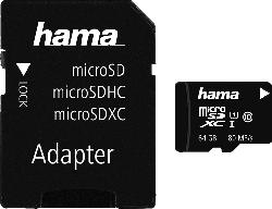 HAMA microSDXC Class 10 UHS-I  64 GB