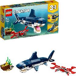 LEGO Bewohner der Tiefsee Bausatz, Mehrfarbig