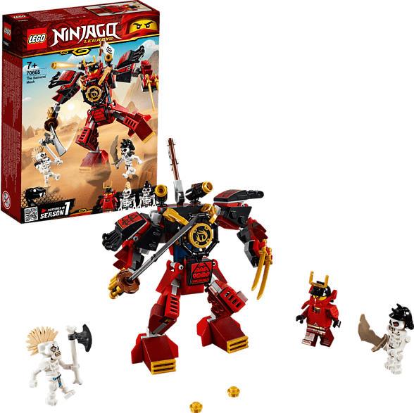 LEGO Samurai-Roboter Bausatz, Mehrfarbig