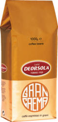 DEORSOLA Gran Crema Kaffeebohnen