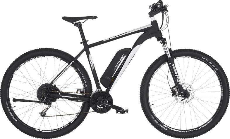 FISCHER EM 1724-S2 Mountainbike (29 Zoll, 51 cm, 422 Wh, Schwarz matt)