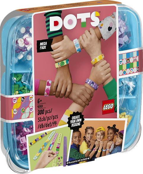 LEGO 41913 Freundschaftsarmbänder Kreativset Bausatz, Mehrfarbig