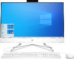 HP 24-df0301ng, All-in-One PC mit 23.8 Zoll Display, Athlon Prozessor, 8 GB RAM, 256 GB SSD, Radeon Grafik, Weiß