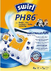 SWIRL PH 86 NeutralizAir® Staubsaugerbeutel