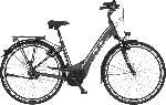 MediaMarkt FISCHER CITA 5.0I-S1 Citybike (28 Zoll, 44 cm, 418 Wh, Grau matt)