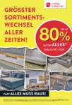 Möbel Hubacher Rausverkauf! - al 08.11.2020