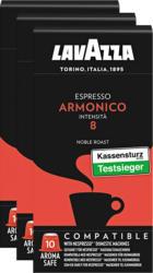 Lavazza Kaffeekapseln Espresso Armonico, kompatibel mit Nespresso®-Maschinen, 3 x 10 Kapseln