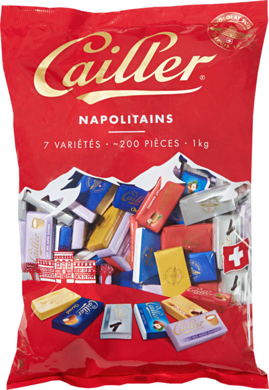 Napolitains Cailler, assortiti, 1 kg