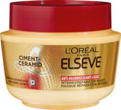 Maschera Anti-Rottura Riparazione Intensiva L'Oréal Elsève, 300 ml