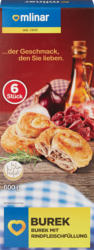Bourek Mlinar, à la viande de bœuf, 6 pièces, 600 g