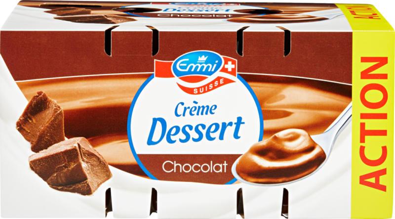 Crème Dessert Emmi, Chocolat, 12 x 125 g