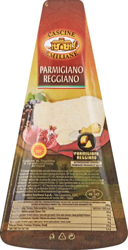 Parmigiano Reggiano DOP Cascine Emiliane, 200 g
