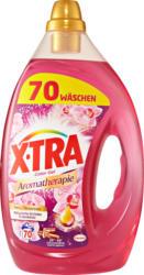 X-Tra Waschgel Aromatherapie malaysische Orchidee & Sandelholz, 70 Waschgänge, 3,5 Liter