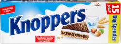 Wafer Latte-Nocciole Knoppers Storck, 15 x 25 g