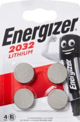Piles Energizer, CR2032, 4 pièces