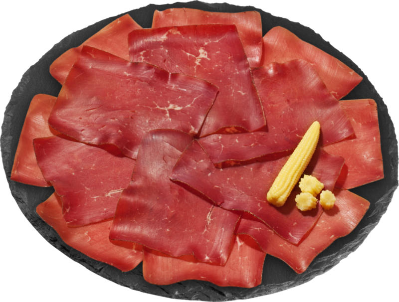 Viande des Grisons, en tranches extra-fines, Irlande, 100 g