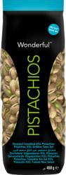 Wonderful Pistazien, geröstet und ungesalzen, 450 g
