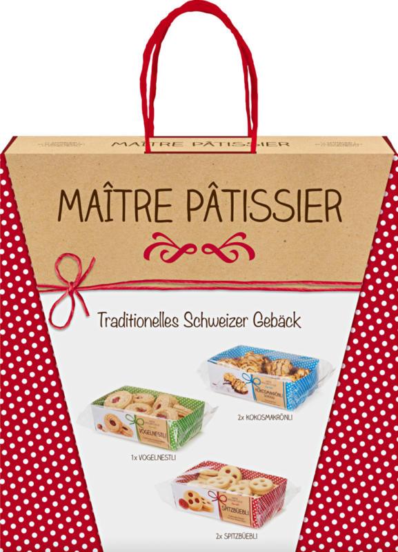 Maître Pâtissier traditionelles Schweizer Gebäck, assortiert, 940 g