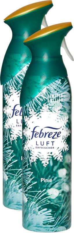 Deodorante per ambienti Febreze , Pino, 2 x 300 ml