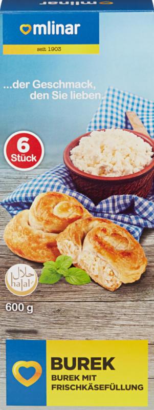 Bourek Mlinar, au fromage frais, 6 pièces, 600 g