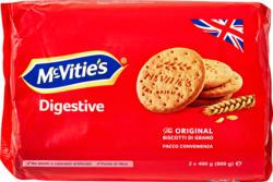 McVitie's Digestive Original, 2 x 400 g