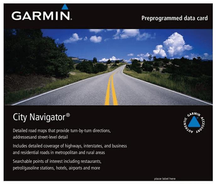 Kartenmaterial City Navigator® Europe NTU auf microSD™/SD™ Karte