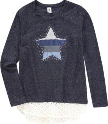 Mädchen Pullover mit Stern-Applikation (Nur online)