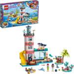 MediaMarkt LEGO Leuchtturm mit Flutlicht Bausatz, Mehrfarbig