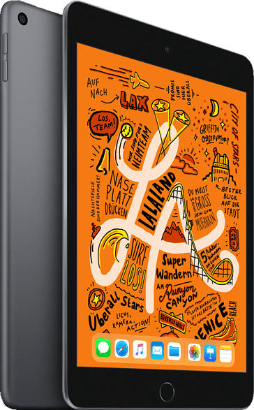 APPLE iPad mini (2019) WiFi, Tablet , 256 GB, 7.9 Zoll, Space Grey