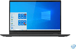LENOVO IdeaPad Flex 5, Convertible mit 15.6 Zoll Display, Core™ i7 Prozessor, 16 GB RAM, 512 GB SSD, Intel Iris Plus Grafik, Graphitsilber
