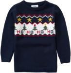 Ernsting's family Kinder Strickpullover mit Weihnachts-Motiv