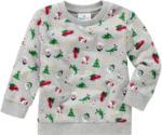 Ernsting's family Baby Langarmshirt mit Weihnachts-Allover