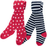 Ernsting's family 2 Baby Thermo-Strumpfhosen im Weihnachts-Look