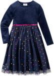Ernsting's family Festliches Mädchen Kleid mit Punkte-Allover (Nur online)