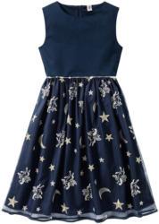 Festliches Mädchen Kleid mit Stickerei