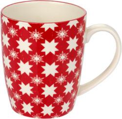 Tasse mit Schneeflocken-Allover (Nur online)