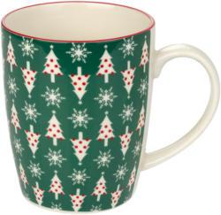 Tassen mit Tannenbaum-Allover (Nur online)
